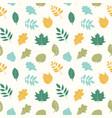 beautiful elegant seamless pattern vector image