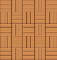 color wooden parquet floor texture background vector image