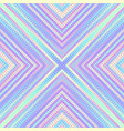 geometric abstract symmetric pattern in low poly vector image vector image