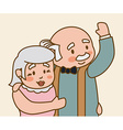 Grandparents design vector image vector image
