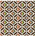 seamless abstract ethnic geometric pattern vector image vector image