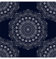 Seamless texture pattern white lace vector image