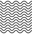 wave abstract seamless pattern simple vector image vector image