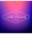 World Cities labels - Las Vegas vector image