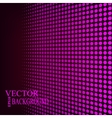 Abstract dotted background vector image vector image