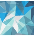 abstract geometric blue background vector image