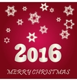 Beautiful Happy New Year 2016 vector image