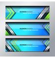 business banner modern design vector image vector image