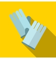 Glove flat icon vector image