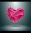 Heart concept design vector image vector image