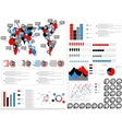 INFOGRAPHIC DEMOGRAPHICS vector image