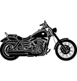 Motorcycle Package vector image vector image
