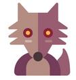 werewolf flat vector image