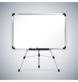Office Whiteboard on Tripod vector image