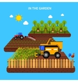 Agriculture Concept vector image vector image