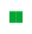Cupboard Icon vector image vector image