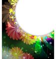 Fantastic floral background vector image vector image