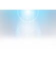 Glowing Light Beams vector image vector image