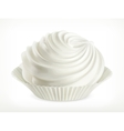 Meringue icon vector image vector image