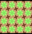 nature leaf seamless pattern vector image vector image