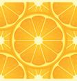 orange citrus fruit healthy vegan food seamless vector image
