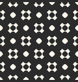 seamless pattern geometric texture with circles vector image vector image