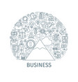 business concept banner2 vector image