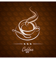 coffee cup8 vector image