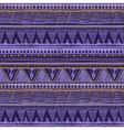 dark color tribal Navajo seamless pattern aztec vector image vector image