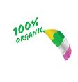 organic pencil vector image vector image