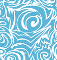 Seamless tribal background vector image vector image