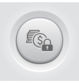 Secured Loan Icon vector image