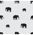 shadow elephants seamless pattern eps10 vector image vector image