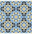 Fashion ornamental seamless pattern in arabesque vector image