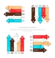 Set of design elements for infographic vector image