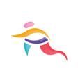 sport logo template vector image