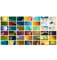 42 Business Cards vector image vector image