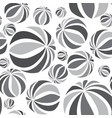 abastract geometric striped ball seamless pattern vector image vector image