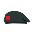 Army beret vector image