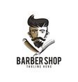 barber shop logo icon