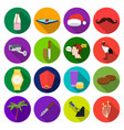 business food clothing and other web icon in vector image vector image
