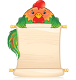 CH rooster vector image vector image