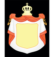 empty coat arms vector image