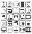 Home Appliance Icons Set vector image vector image