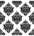 Intricate damask style arabesque pattern vector image vector image