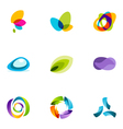 logo design elements set 41 vector image