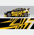 modern sporty abstract car wrap auto sticker