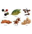 peppercorn bay leaf dried cloves cassia cinnamon