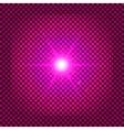 Pink flash vector image