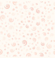 rose spiral pattern seamless vector image vector image